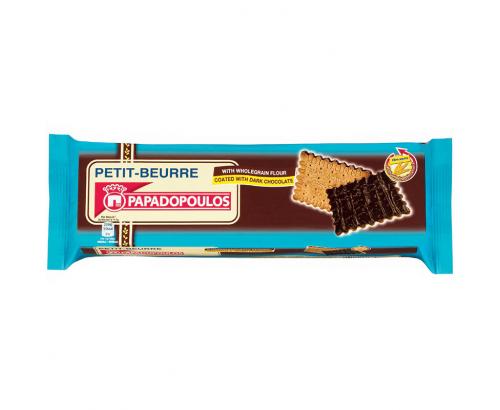 Бисквити Петит Бьор 134г Тъмен шоколад