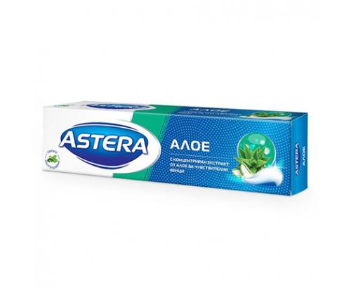 Паста за зъби Астера 100мл Алое