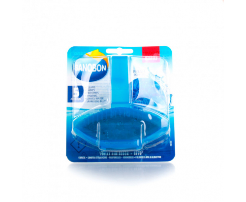 Ароматизатор за тоалетна Сано 50г Синя вода