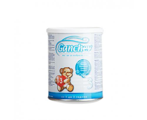 Адаптирано мляко Ганчев 400г 2 преходно 1-3 години