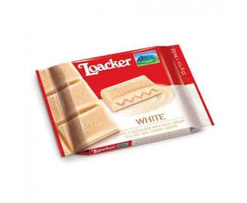 Шоколад Лоакер 55г Бял