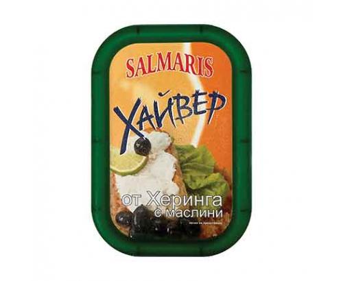 Хайвер от херинга с маслини Салмарис 140г