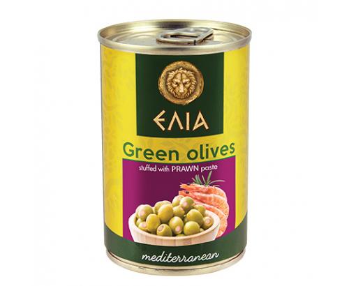 Зелени маслини с паста от скариди Елиа 300г