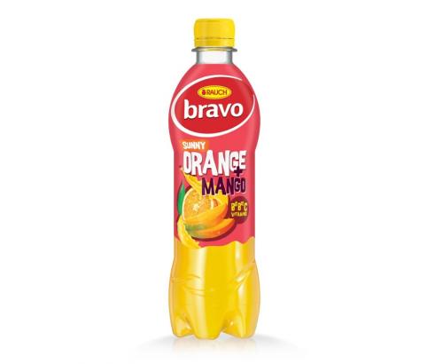 Напитка Браво 500мл Слънчев портокал и манго