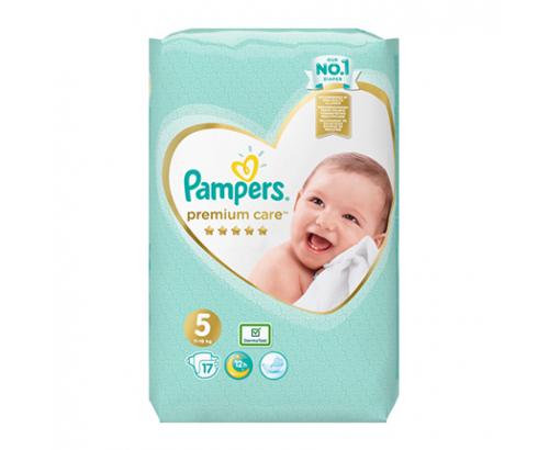 Бебешки пелени Памперс Премиум Кеър 17бр 11-16кг