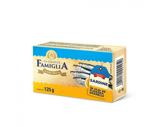 Сардини в олио Ла Гранде Фамилия 125г