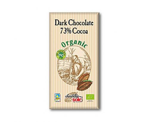 Био шоколад Соле 25г 73% Какао