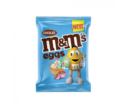 Шоколадови яйца М енд М 80г Мини