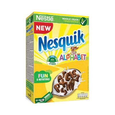 Зърнена закуска Нескуик 325г Алфабет