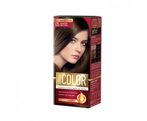 Боя за коса Арома Колор 05 Златен Кестен