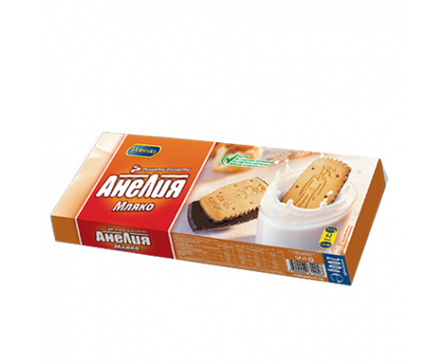 Бисквити Анелия 200г Мляко