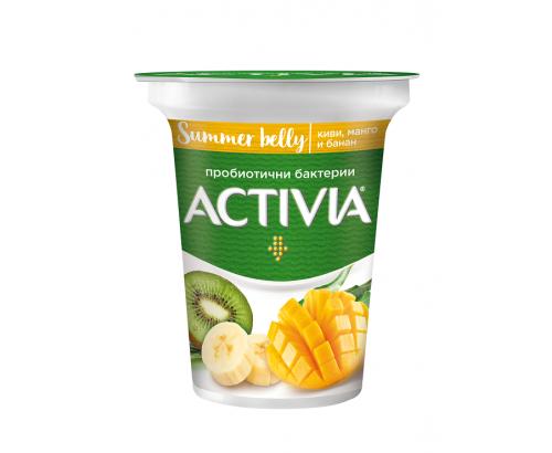 Активиа плодова 280г Киви, манго и банан