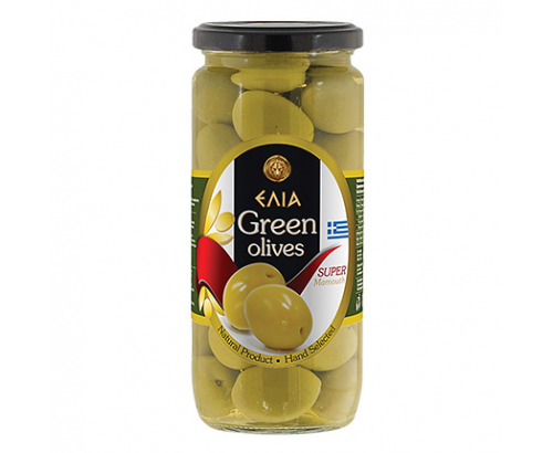 Зелени маслини Елиа 500/280г