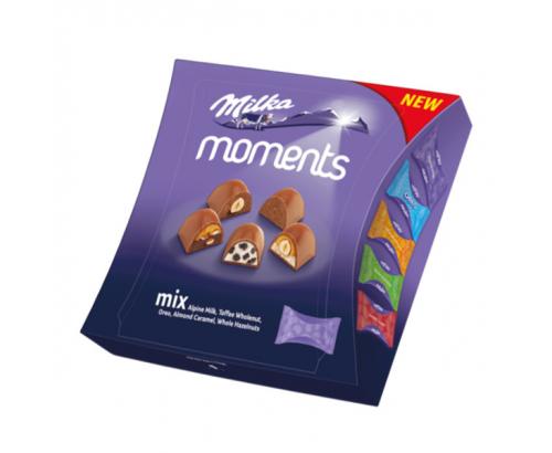 Шоколадови бонбони Милка Моментс 97г Асорти