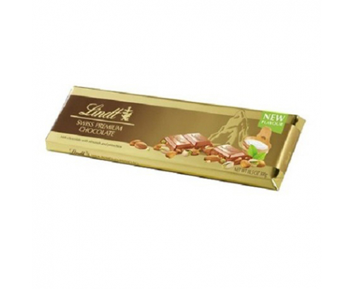 Шоколад Линдт Голд 300г Бадем и шам фъстък