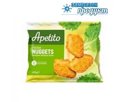 Панирани пилешки хапки Апетито 400г