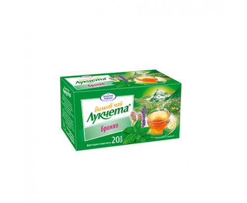 Билков чай Лукчета 20бр Бронхо