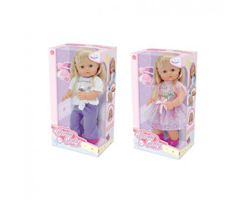 Кукла с рокля/панталон с блуза