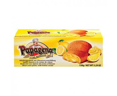 Бисквити Папагена 150г Лимонов пълнеж