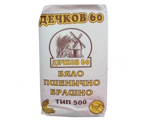 Брашно Дечков 60 1кг Тип 500