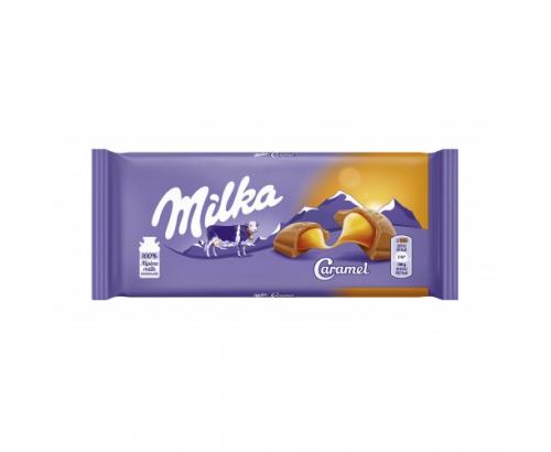Шоколад Милка 100г Карамел
