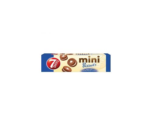 Бисквити 7 дейс мини 100г ванилия