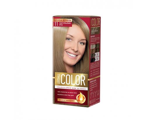 Боя за коса Арома Колор 11 Натурално русо