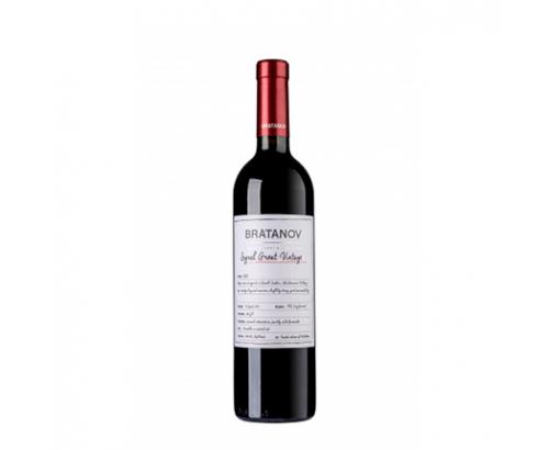 Вино Братанов 750мл Сира Сан Барик 2015г