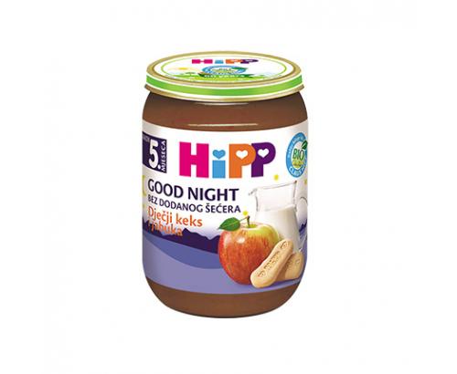 Био млечна каша Лека Нощ Хип 190г Ябълка и бисквити