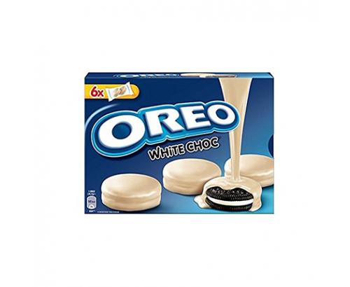 Бисквити Орео 246г Тунквани с бял шоколад