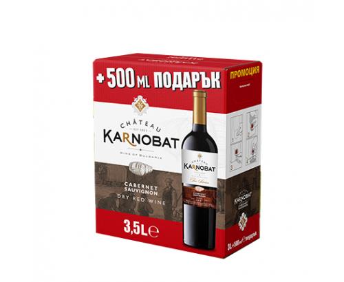 Вино Шато Карнобат 3,5л Каберне Совиньон