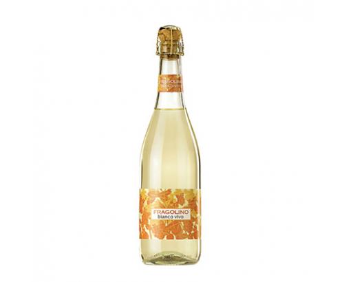 Пенливо вино Фраголино 750мл Бяло