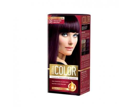 Боя за коса Арома Колор 08 Махагон Виолет