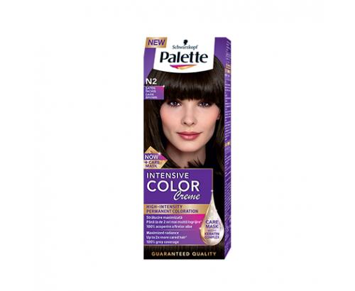 Боя за коса Палете Интензив Калър Крийм N2 Тъмно кафяв