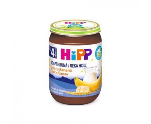 Био млечна каша Лека Нощ Хип 190г Грис и банан
