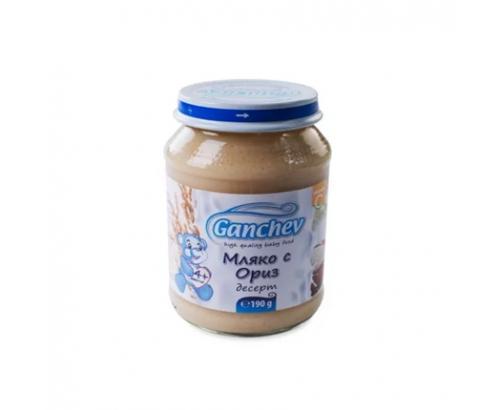 Десерт Ганчев 190г Мляко с ориз