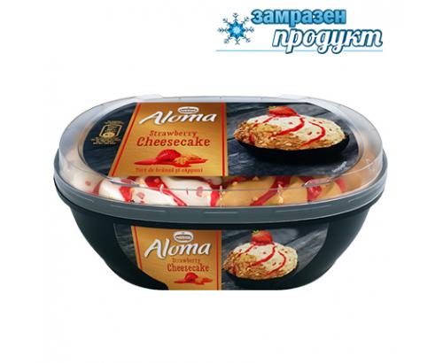 Сладолед Алома 900мл Ягодов чийзкейк