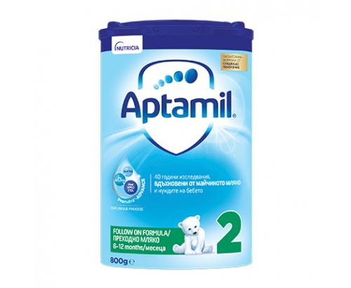 Адаптирано мляко Аптамил Адванс 2 800г