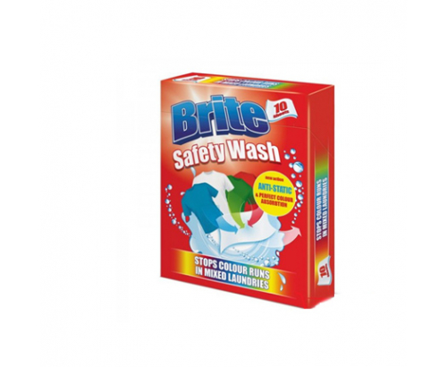 Цветоулавящи кърпички Брайт 10бр Антистатик за цветно пране