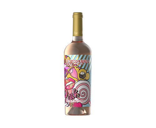 Вино Катаржина Контемплейшън 750мл Розе