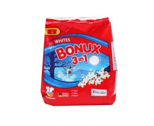 Прах за пране Бонукс 400г Ръчно пране Цветно