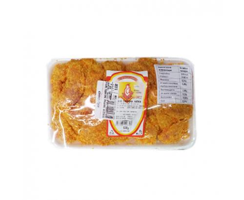 Панирани пилешки хапки Пименс Тарелка≈500г
