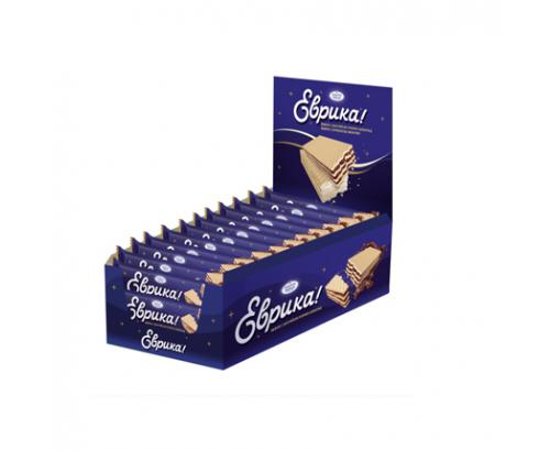 Вафла Еврика 30г Шоколад