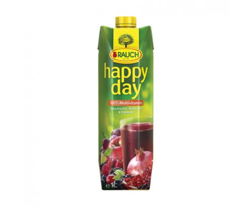 Натурален сок Хепи Дей 1л Червен мултивитамин