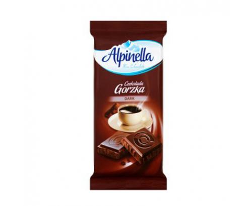 Шоколад Алпинела 90г Натурален