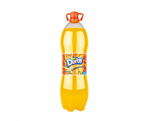Газирана напитка Дерби 2л Оранжада