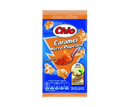 Пуканки за микровълнова Чио 90г Карамел