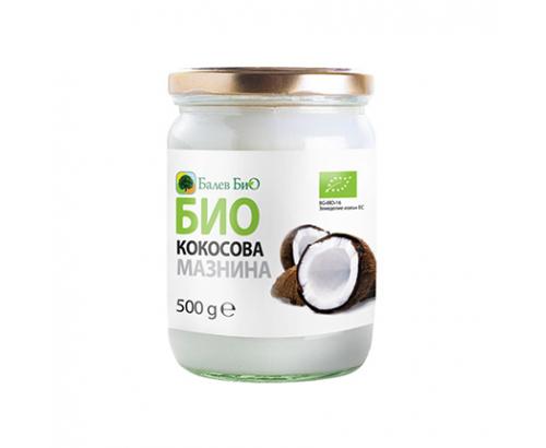Био кокосова мазнина Балевбио 500мл