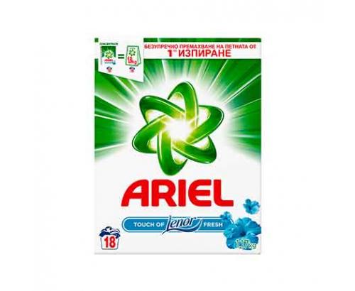 Прах за пране Ариел 1,17кг Фреш с Ленор