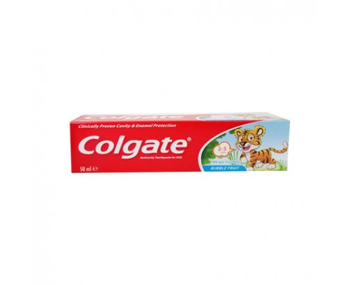 Паста за зъби Колгейт 50мл Бабъл фрут 2-5години